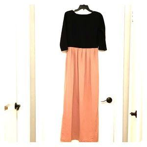 Dresses & Skirts - Comfortable Color Block Maxi Dress